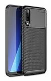 Eiroo Rugged Carbon Huawei P Smart S Siyah Silikon Kılıf
