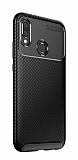 Eiroo Rugged Carbon iPhone 7 / 8 Siyah Silikon Kılıf