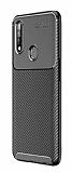 Eiroo Rugged Carbon Oppo A31 Siyah Silikon Kılıf