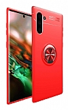 Eiroo Liquid Ring Samsung Galaxy Note 10 Kırmızı Silikon Kılıf
