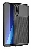 Eiroo Rugged Carbon Xiaomi Mi 9 Siyah Silikon Kılıf