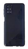 Eiroo S Line Samsung Galaxy M51 Mavi Silikon Kılıf