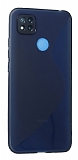Eiroo S Line Xiaomi Poco C3 Mavi Silikon Kılıf