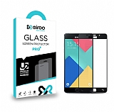 Eiroo Samsung Galaxy A5 2016 Curve Tempered Glass Siyah Full Cam Ekran Koruyucu