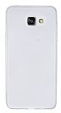Eiroo Samsung Galaxy A7 2016 Ultra İnce Şeffaf Silikon Kılıf
