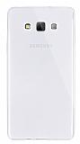 Dafoni Aircraft Samsung Galaxy A7 Ultra İnce Şeffaf Silikon Kılıf