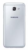 Eiroo Samsung Galaxy A8 2016 Ultra İnce Şeffaf Silikon Kılıf