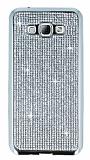 Eiroo Samsung Galaxy A8 Ta�l� Silver Silikon K�l�f