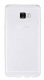 Samsung Galaxy C5 Ultra İnce Şeffaf Silikon Kılıf