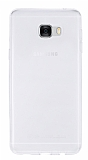 Samsung Galaxy C7 SM-C7000 Ultra İnce Şeffaf Silikon Kılıf