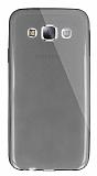 Dafoni Aircraft Samsung Galaxy E5 Ultra İnce Şeffaf Siyah Silikon Kılıf