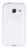Eiroo Samsung Galaxy J1 mini Ultra İnce Şeffaf Silikon Kılıf