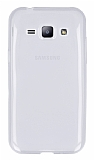 Eiroo Samsung Galaxy J1 Ultra İnce Şeffaf Silikon Kılıf