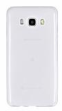 Eiroo Samsung Galaxy J5 2016 Ultra İnce Şeffaf Silikon Kılıf
