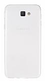 Eiroo Samsung Galaxy J5 Prime Ultra İnce Şeffaf Silikon Kılıf