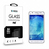 Eiroo Samsung Galaxy J5 Tempered Glass Cam Ekran Koruyucu