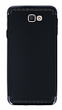 Eiroo Samsung Galaxy J7 Prime 3ü 1 Arada Siyah Kenarlı Siyah Silikon Kılıf