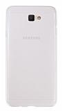 Eiroo Samsung Galaxy J7 Prime Ultra İnce Şeffaf Silikon Kılıf