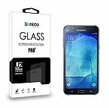 Eiroo Samsung Galaxy J7 / Galaxy J7 Core Tempered Glass Cam Ekran Koruyucu