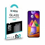 Eiroo Samsung Galaxy M31S Tempered Glass Cam Ekran Koruyucu