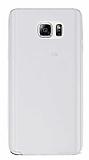 Samsung Galaxy Note 5 Ultra İnce Şeffaf Silikon Kılıf