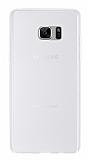 Samsung Galaxy Note FE Ultra İnce Şeffaf Silikon Kılıf