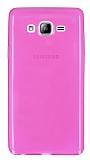 Eiroo Samsung Galaxy On7 Ultra �nce �effaf Pembe Silikon K�l�f