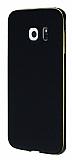 Eiroo Samsung Galaxy S6 Edge Plus Metal Kenarlı Siyah Kılıf