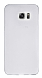 Samsung Galaxy S6 Edge Plus Ultra İnce Şeffaf Silikon Kılıf