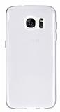 Samsung Galaxy S7 edge Ultra İnce Şeffaf Silikon Kılıf