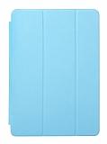 Eiroo Samsung Galaxy Tab 3 Lite 7.0 Slim Cover Mavi Kılıf