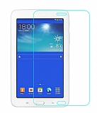 Eiroo Samsung Galaxy Tab 3 Lite 7.0 Tempered Glass Tablet Cam Ekran Koruyucu