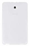 Eiroo Samsung Galaxy Tab A 2016 T580 Ultra İnce Şeffaf Silikon Kılıf