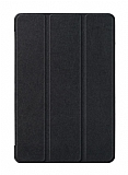 Eiroo Samsung Galaxy Tab A T590 10.5 Slim Cover Siyah Kılıf