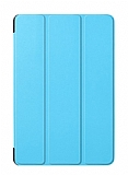 Eiroo Samsung Galaxy Tab S4 T830 10.5 Slim Cover Mavi Kılıf