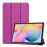 Eiroo Samsung Galaxy Tab S6 Lite P610 Slim Cover Mor Kılıf