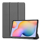 Eiroo Samsung Galaxy Tab S6 Lite P610 Slim Cover Gri Kılıf