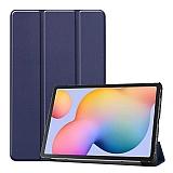 Eiroo Samsung Galaxy Tab S6 Lite P610 Slim Cover Lacivert Kılıf