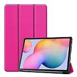 Eiroo Samsung Galaxy Tab S6 Lite P610 Slim Cover Pembe Kılıf