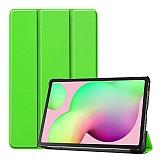 Eiroo Samsung Galaxy Tab S6 Lite P610 Slim Cover Yeşil Kılıf