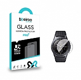 Eiroo Samsung Galaxy Watch Tempered Glass Cam Ekran Koruyucu