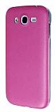Eiroo Samsung i9082 Galaxy Grand / i9060 Grand Neo Ultra �nce Deri Pembe Silikon K�l�f