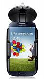 Eiroo Samsung i9500 Galaxy S4 Siyah Araç Tutucu