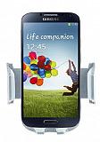 Eiroo Samsung i9500 Galaxy S4 Gri Ara� Tutucu