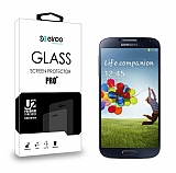 Eiroo Samsung i9500 Galaxy S4 Tempered Glass Cam Ekran Koruyucu