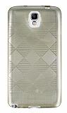 Eiroo Samsung N7500 Galaxy Note 3 Neo Kareli Ultra �nce Gold Silikon K�l�f