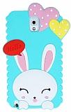 Eiroo Samsung N9000 Galaxy Note 3 Kalpli Tav�an Ye�il Silikon K�l�f