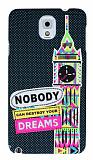 Eiroo Samsung N9000 Galaxy Note 3 Karanl�kta Parlayan Big Ben Rubber K�l�f