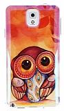 Eiroo Samsung N9000 Galaxy Note 3 Parlak Big Owl Silikon K�l�f