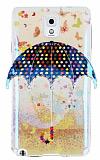 Eiroo Samsung N9000 Galaxy Note 3 Kahverengi �emsiye Parlak Silikon K�l�f